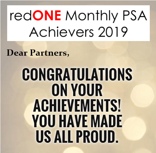 redONE Warriors of the Month – November 2019 -